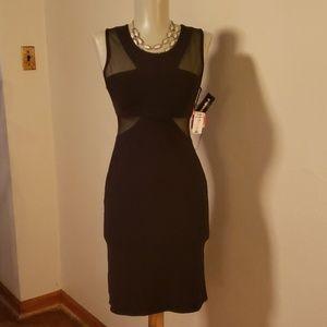 Morgan & Co. Sheer top dress.  Size 5/6 lycra